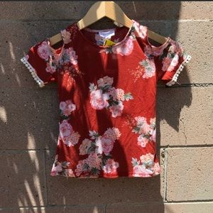 NWT Floral Top - Tilly's